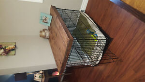Rustic cage table