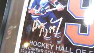 SIGNED WAYNE GRETZKY PICTURE  London Ontario image 2