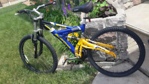 Hooligan mountain bike full suspension
