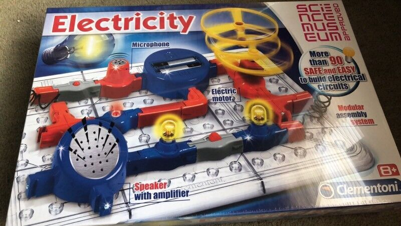 Electricity set from Science Museum (still in plastic wrapping)