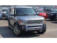 2008 LAND ROVER DISCOVERY 3 TDV6 HSE STUNNING AND RARE IZMAR BLUE CHROME PACK