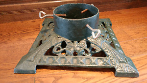 Vintage Cast Iron Christmas Tree Stand