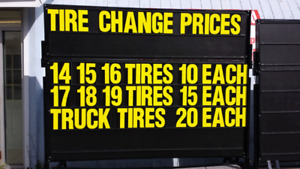 Changing To Winter /All Season  Tires OPEN SATURDAYS