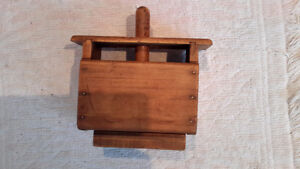 Collection of ANTIQUE WOODEN BUTTER PRESSES London Ontario image 2