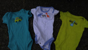 Boys baby clothes 0-3 months, variety of items