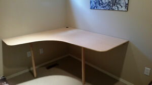 Corner Wall Desk ideal for computer room or Studying