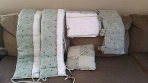 Neutral Crib Bedding Set
