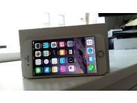 Mint iPhone 6 gold unlocked 16gb
