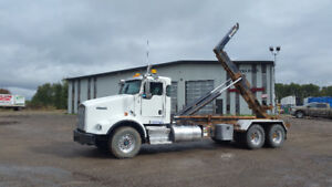 For Sale by Auction - 2011 Kenworth T-800 Ext. Cab Deck Truck