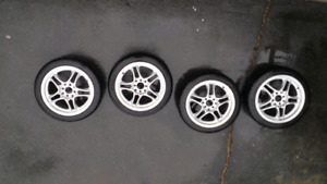 "2 Sets of 16"" Rims"