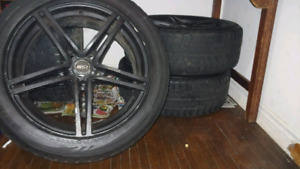 "Bridgestone 18"" Winter Tires"