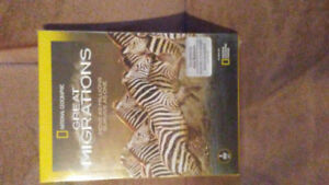 National geographic great migrations 3-dvd set