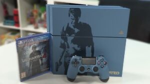 PS4 UNCHARTED 4 LIMITED EDITION,8jeux,2manette,chargeur,chat pad
