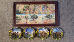 Winnie The Pooh - 2D and 3D - Collectible Plate Sets
