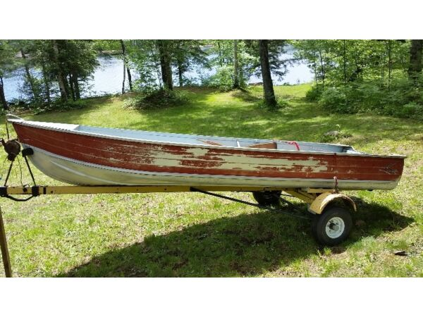 Used 1980 Other Springbok 14 foot aluminum boat