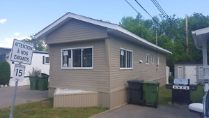 Brand new mobile home all renovated west island