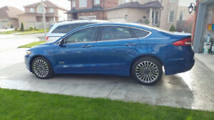 2017 Ford Fusion Energi Electric Save $$ on Gas Green Plate