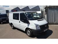 Ford Transit 2.2TDCi ( 100PS ) ( EU5 ) 260S ( Low Roof ) Double C 260 SWB