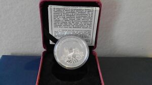 Commemorative Canadian .9999 Silver Coins