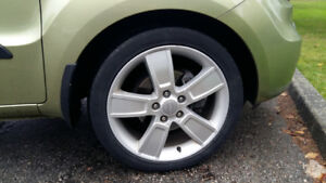 "Alloy rims only, 18""x7, used set of 4 in good condition"