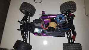 Nitro rc with 3.3cc engine and all you see including new engine