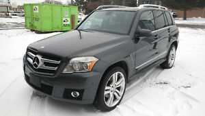 2010 MERCEDES-BENZ GLK350, 4MATIC, CLEAN CARPROOF