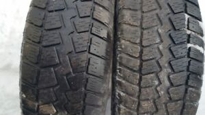 "A set of 4-265/70/17"" Winter tires"