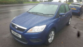 2010 Ford Focus 1.6 100ps Style 5dr * 58k Miles * Full S/History * 1 Prev Owner