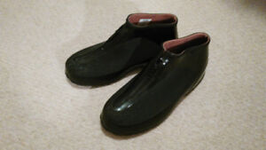 Rubber overshoes
