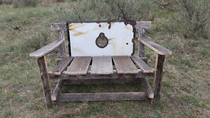 Custom design garden bench