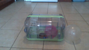 HAMSTER CAGE and ALL THE FIXINS  $25