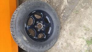 "16"" tire on rim/Trail Blazer"