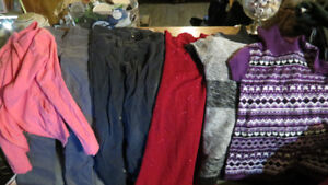 girls clothes sizes 10, 10-12