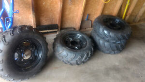 Brand New sportsman XP tires and rims