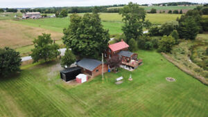 Gorgeous 2.25 acre property only 15 mins. from Lindsay!