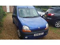 Renault Kangoo 1.4 RXE ideal as van or camper conversion day van etc brilliant