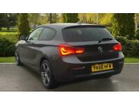 2017 BMW 1 Series 116d Sport 3dr (Nav) Manual Diesel Hatchback
