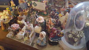 Misc collector plates, dolls & Knick knacks