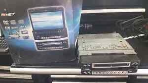 In dash dvd player. Clarion