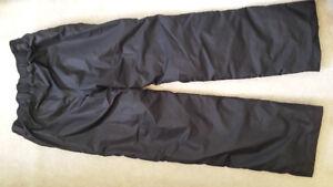 Womens XS Black Snowpants