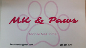 Mobile Nail Trims & Pet Services