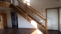 Custom Timber staircases and railings