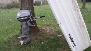 New Dinghy and 2005 Nissan Outboard 9.9 Hp
