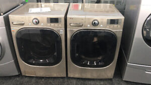 FRONT LOAD WASHERS DRYERS 15% OFF UNTIL SUNDAY