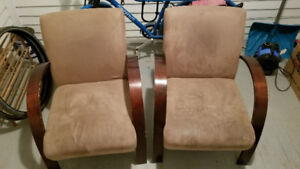 Pair of comfy chairs