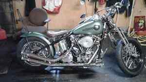 Swap 1990 1HD1 FXST Harley Bobber