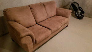 Couch - microfiber. Good condition