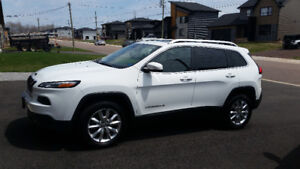 2014 JEEP CHEROKEE LIMITED FOR SALE !!!   LOW  KM'S
