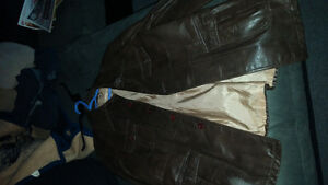 brown leather jacket London Ontario image 1