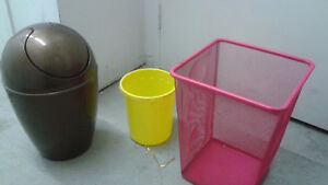 CHEAP wastebaskets IKEA / UMBRA loft / Seria